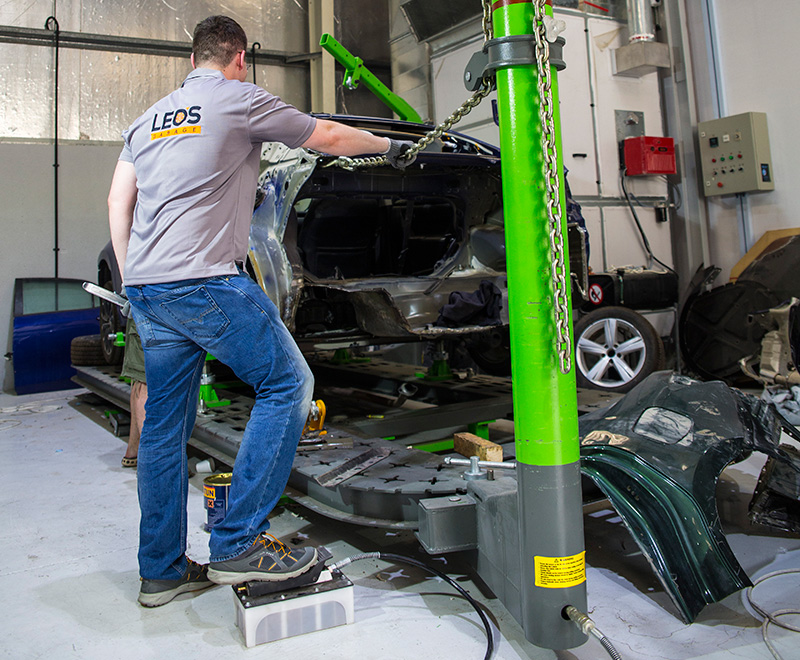 Leo's Garage - Chassis Repairs in Dubai