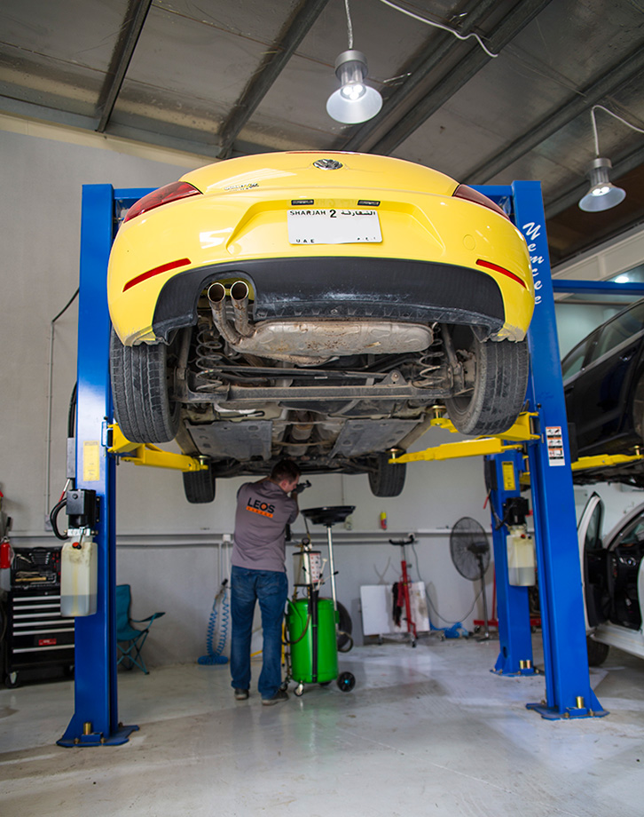 Leo's Garage - Mechanical Works in Dubai
